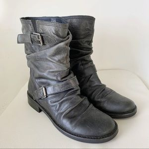 Matisse Gray Triumph Moto Boots